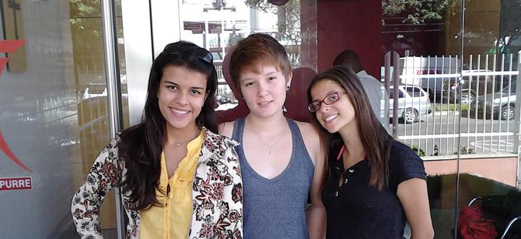 Visita dos Alunos da UVV em Maio de 2011