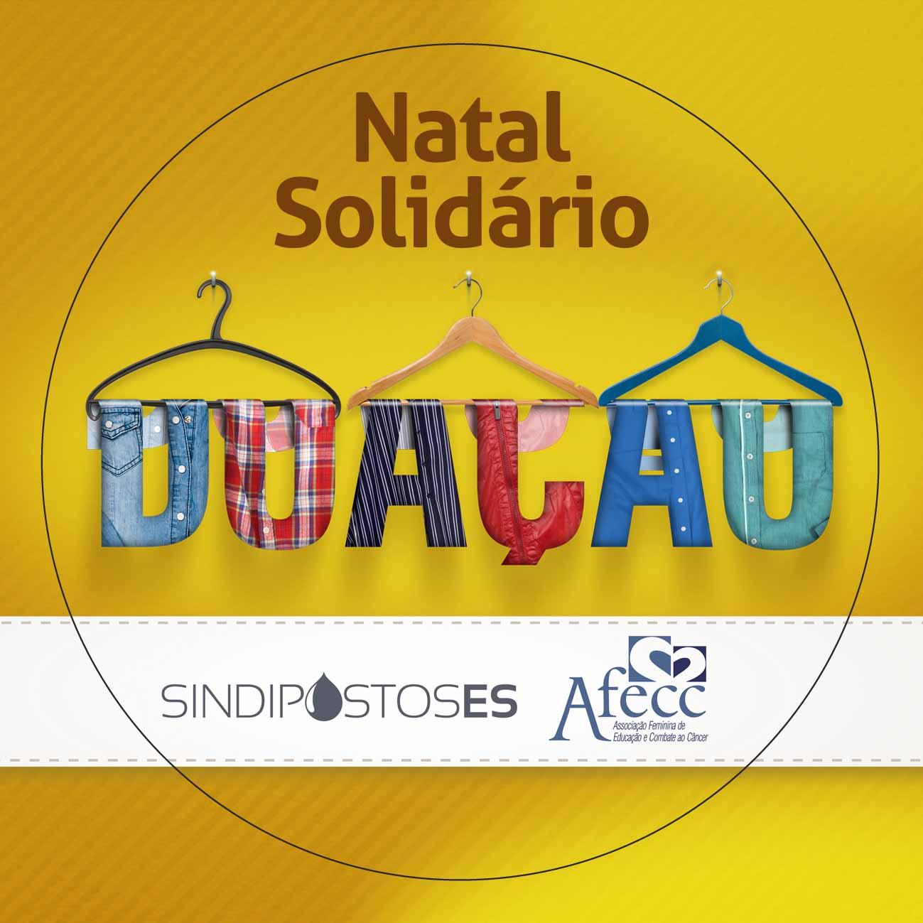Campanha Natal Solidário do Sindipostos-ES