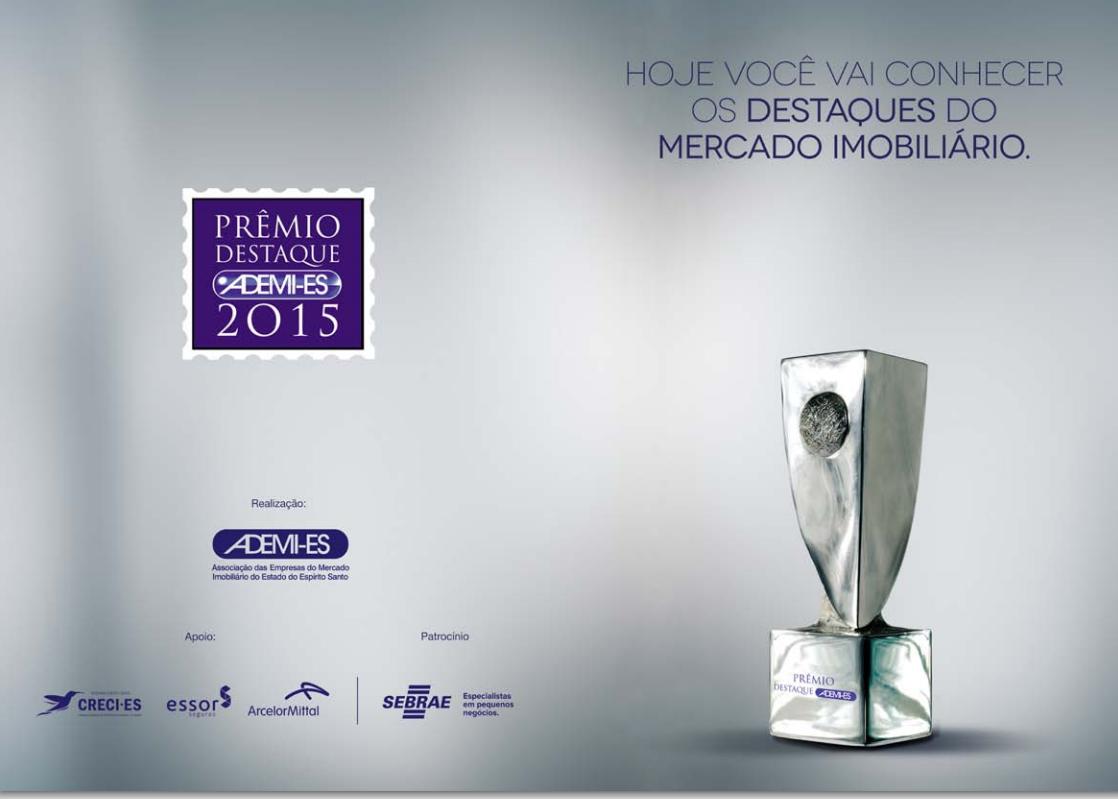 Acontece hoje no Itamaraty Hall a entrega do 6º Prêmio Adeim-ES.
