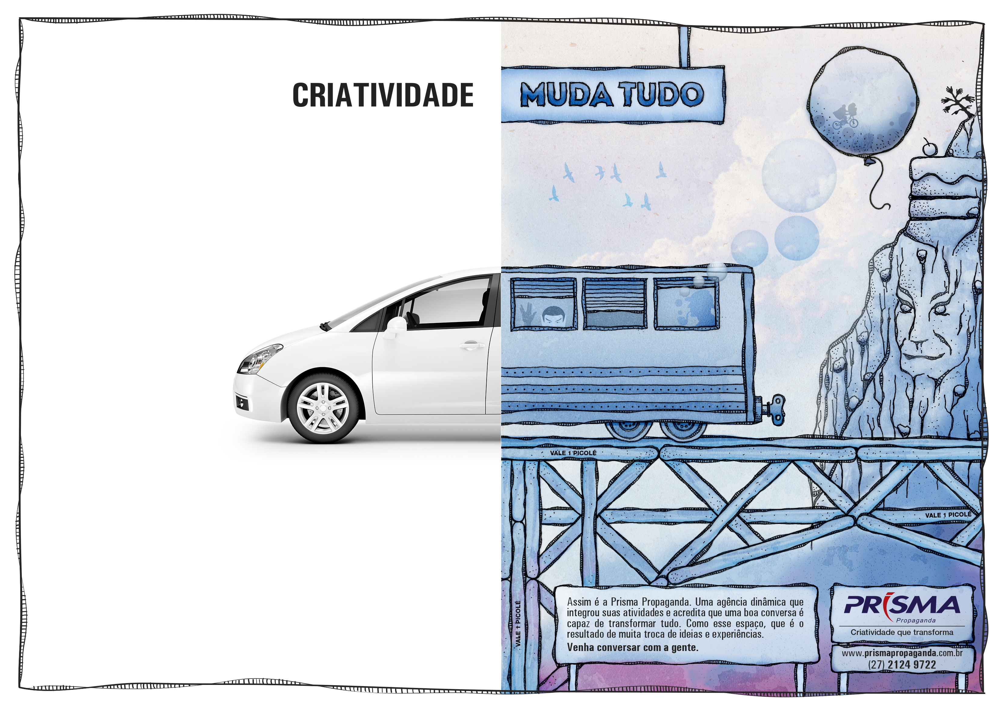 Anúncio Prisma – Carro