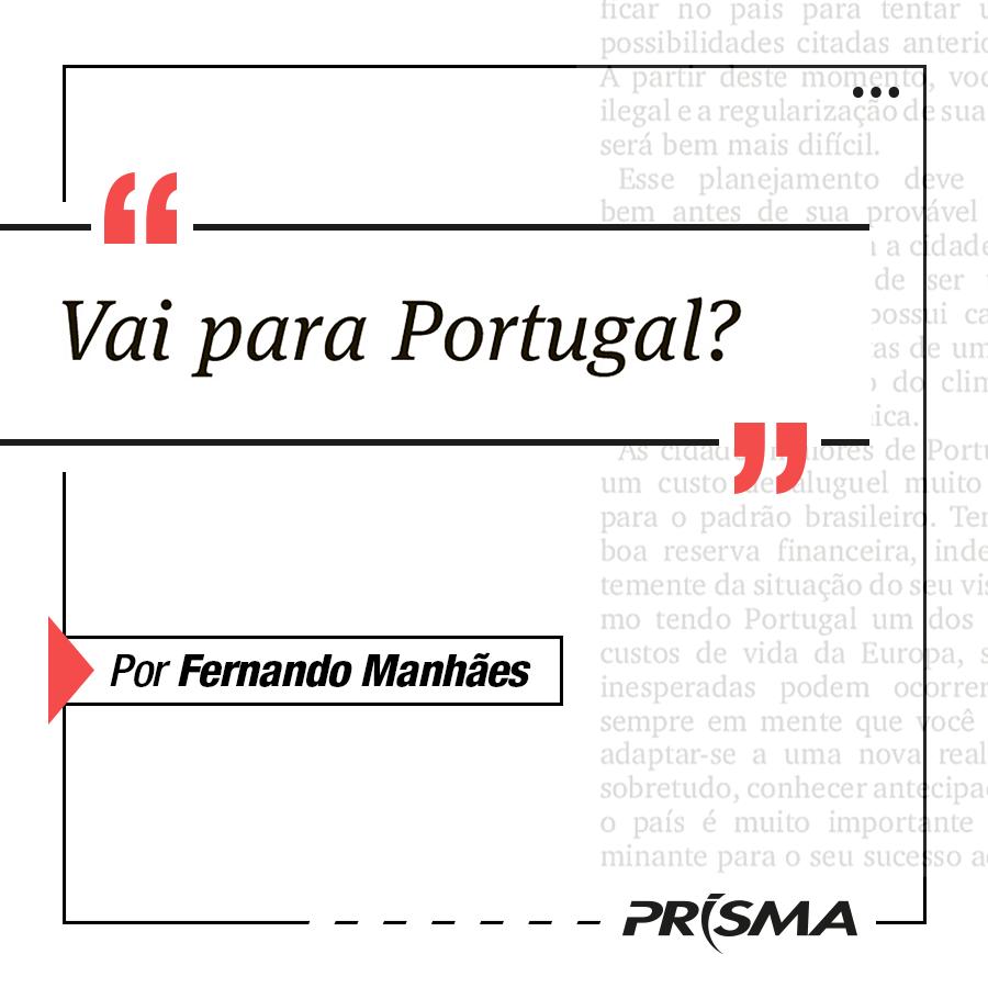 Vai para Portugal?